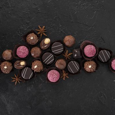 Brood & Banket Platteau - Chocolade & marsepein